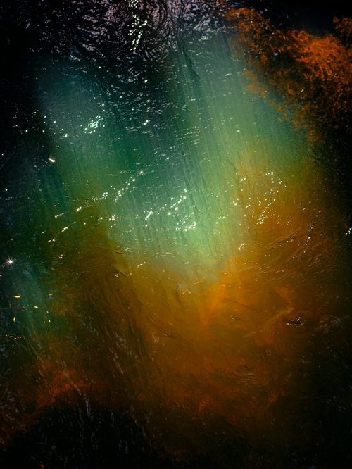 River Abstract Artwork